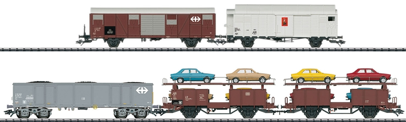 Märklin 46567 Güterwagen-Set, passend zum Rangierkrokodil