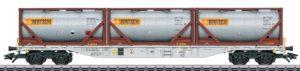 """Märklin 47097 Containertragwagen Sgnss """"Bertschi AG"""""""