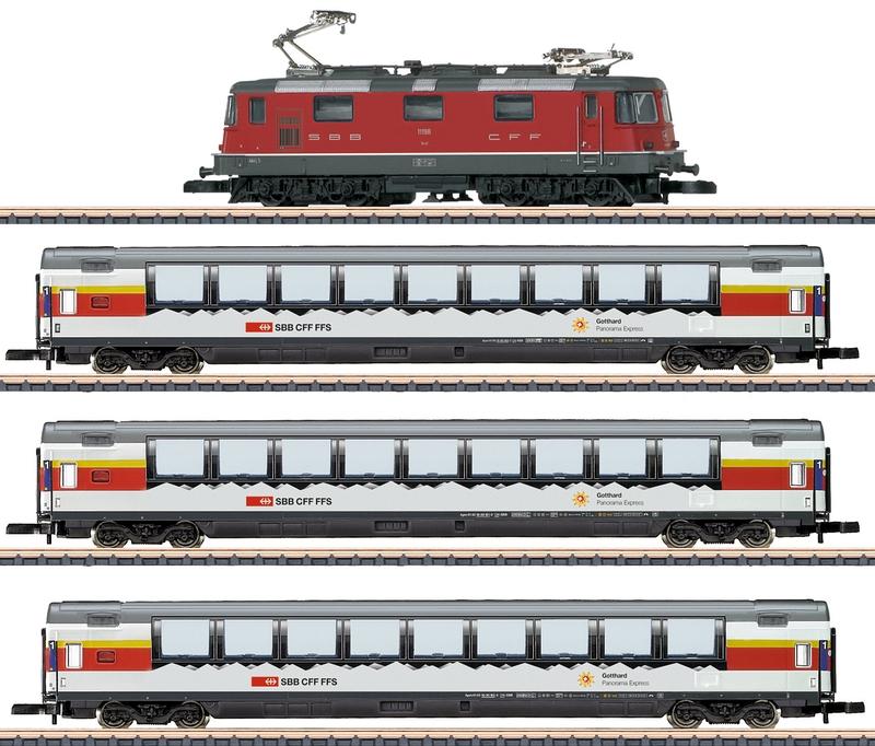 Märklin 91594 Zugpackung gotthard-Panorama-express