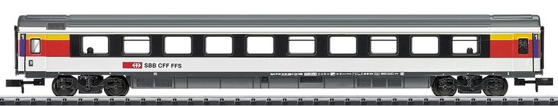 Minitrix 15671 SBB Schnellzugwagen 1. Klasse Serie Apm