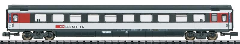 Minitrix 15672 SBB Schnellzugwagen 2. Klasse Serie Bpm