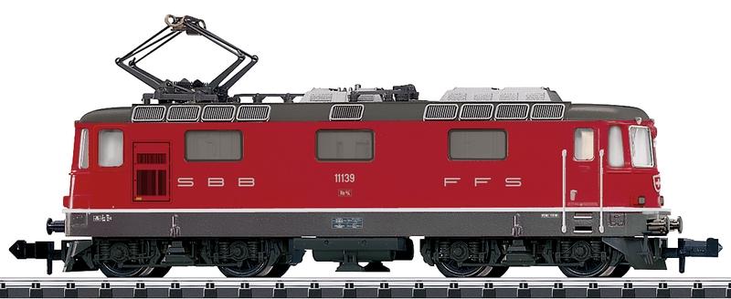 Minitrix 16882 SBB Re 4/4 II, Betriebsnummer 11139 rot