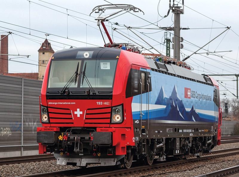 Roco 73955 SBB-Cargo-international BR 193 Betriebsnummer 478