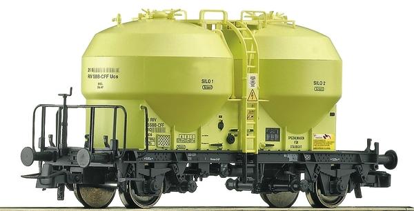 Roco 76886 SBB 2-achsiger Silowagen Ucs