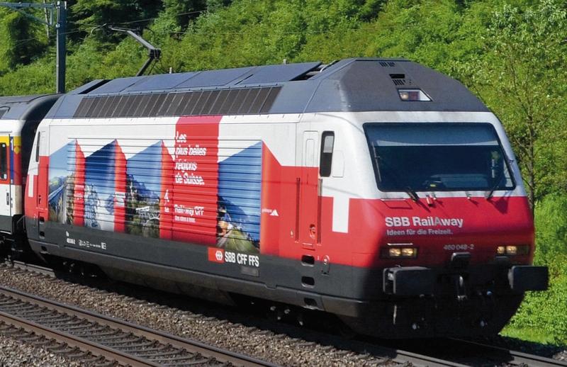 "Roco 73281 SBB Re 460 048-2, ""RailAway"""