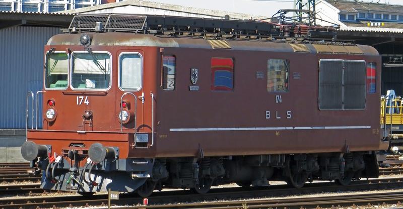 Roco 73780 BLS Re 4/4 174, Wappen. Frutigen