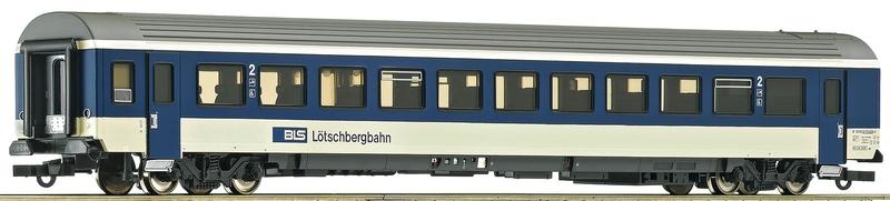 Roco 74391 BLS Schnellzugwagen EW IV B 2. Klasse