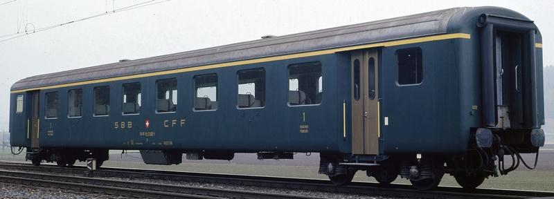 Roco 74560 SBB Schnellzugwagen EW II A 1. Klasse