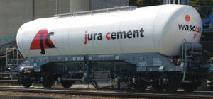 """Roco 76146 4-achsiger Silowagen der Wascosa AG, """"Jura Cement*"""