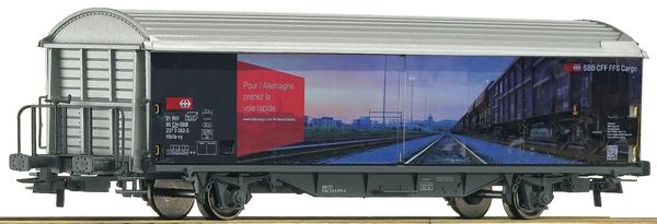 """Roco 76491 SBB Schiebewandwagen Hbils, """"Überholspur Deutschland"""""""