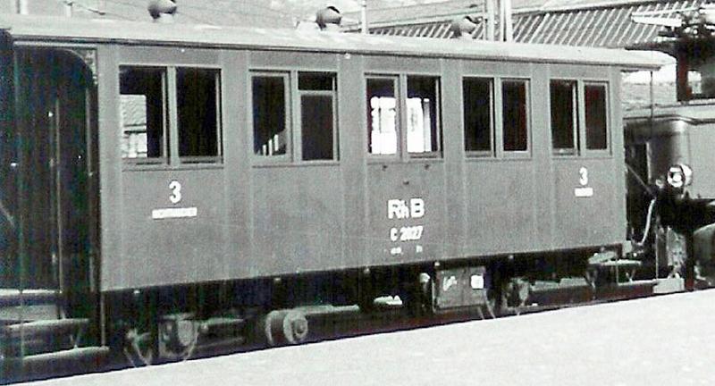 Bemo 3234 133 RhB Personenwagen C 2013, 1911