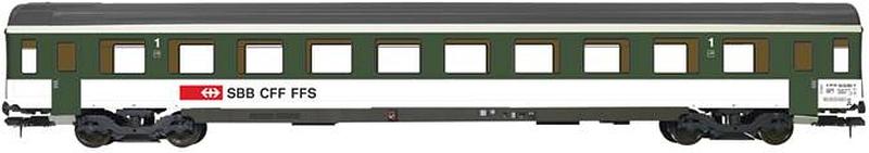 ESU SBB Schnellzugwagen EW IV A, 1. Klasse