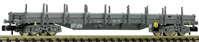 Fleischmann 828821 SBB 4-achsiger Rungenwagen grau