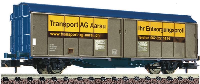 "Fleischmann 837305 Schiebewandwagen der ""Transport AG Aarau"""