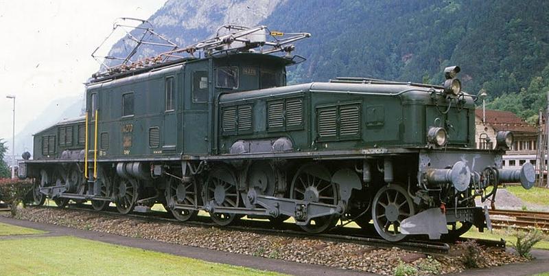 Jägerndorfer 62120 SBB Ce 6/8 II 14270