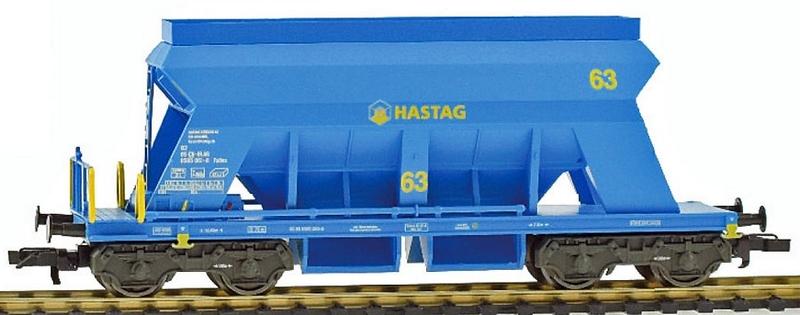 Liliput 235543 Kiesswagen der Hasag AG, eingestellt bei der SBB