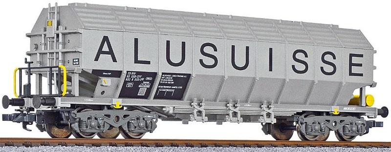 Liliput 235560 Tonerde-Transportwagen der Alusuisse
