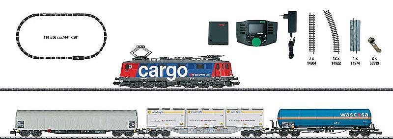 Minitrix 11141 Starpackung SBB Güterzug