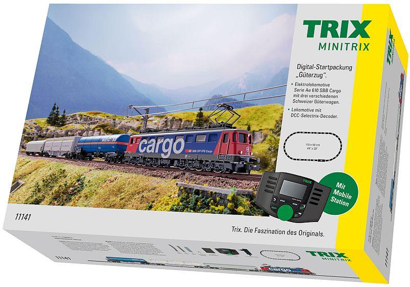 "Minitrix 11141 Digitale Startpackung ""SBB Güterzug"""