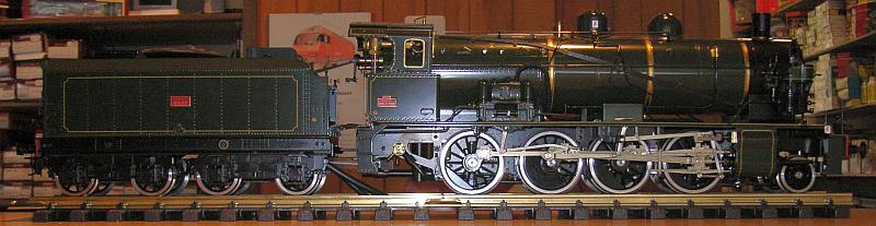 Aster SNCF Echtdampflok Serie 140 C Nr. 302
