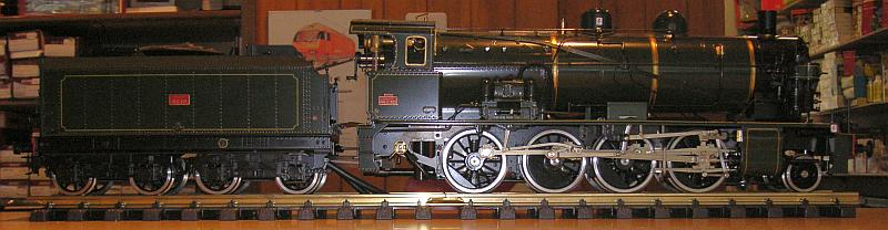 SNCF Echtdampfflok Serie 140 C 302