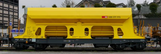 SBB Neu-Schotterwagen Faccnpps Xans