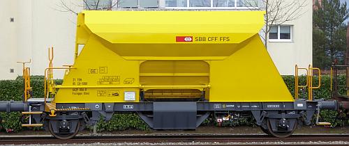 SBb Neu-Schotterwagen Fccnpps (Xns)