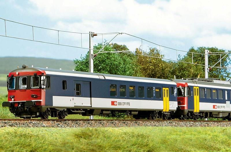 Piko SBB BDt und RBe 540