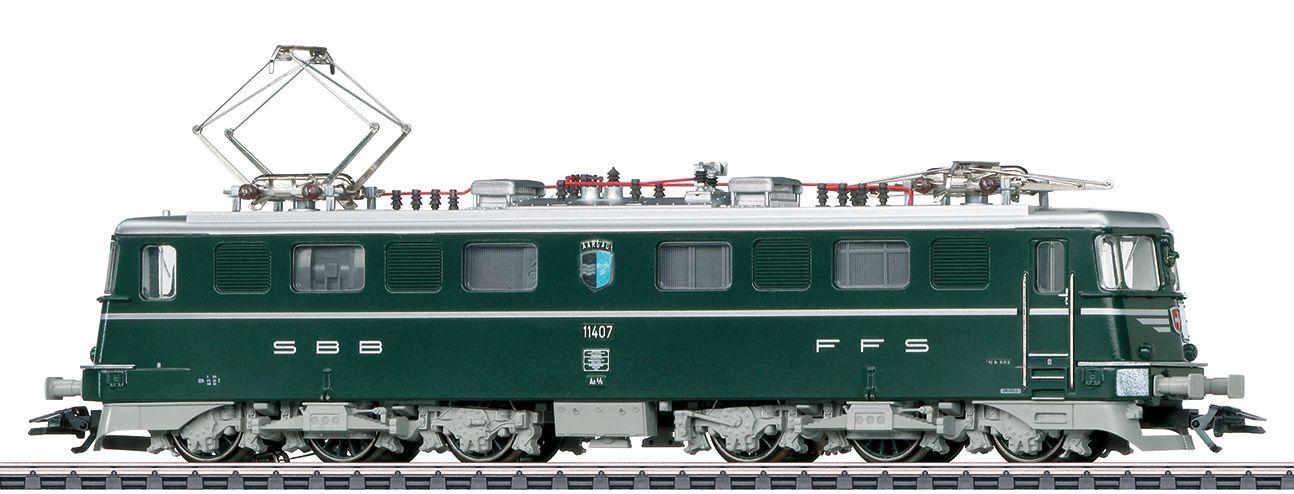 "Märklin 39364 SBB Ae 6/6 11407 ""Aargau"" des Verein Mikado Brugg"