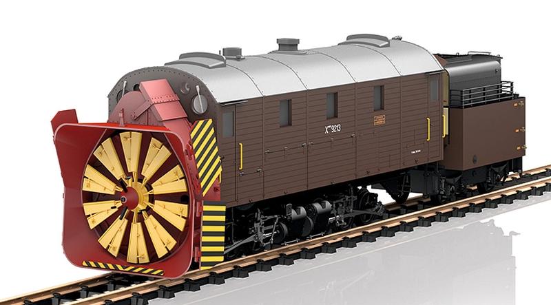 LGB 26605 RhB Dampfschneeschleuder X rot 9213