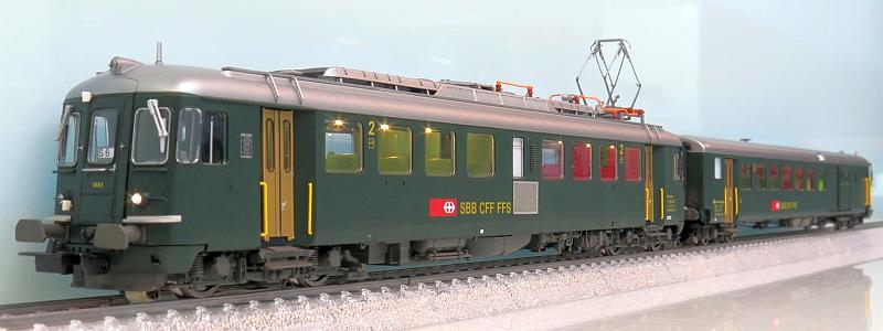 Piko 96838 SBB RBe 4/4 1461 mit BDt 924-0