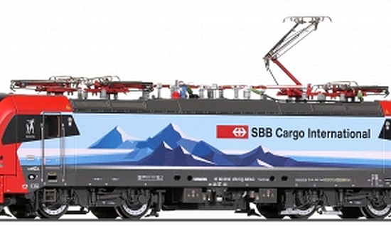 "Roco 73955 SBB Cargo international, BR 193 478-5 ""Gottardo"""