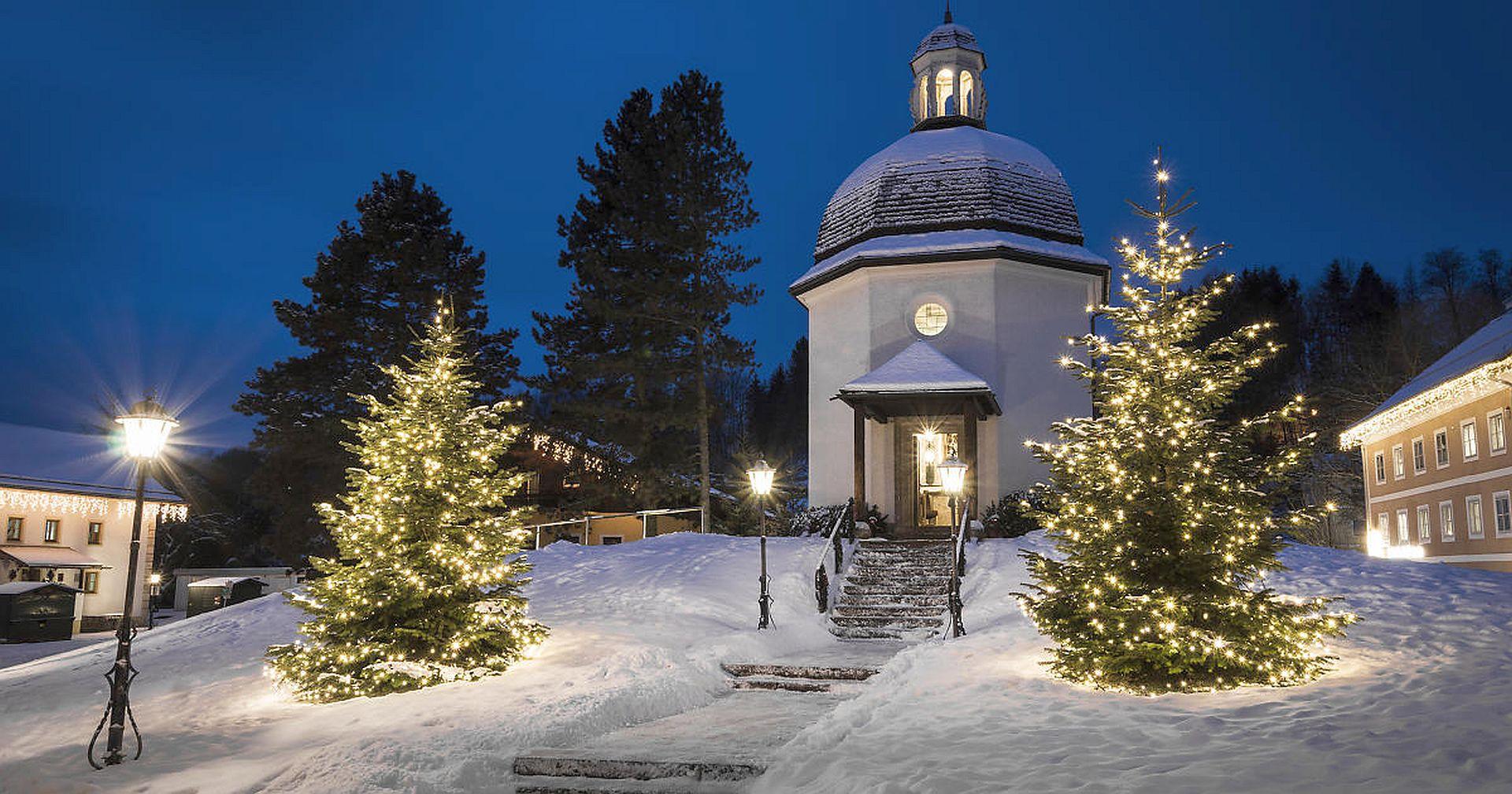 Stille Nacht Kapelle in Oberndor bei Salzburg