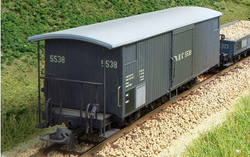 Bem 2293 102 RhB Gedeckter Güterwagen Typ K1 Nr. 5552