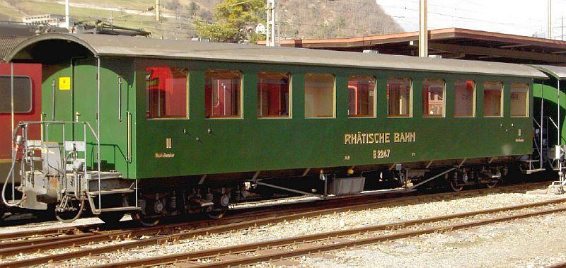 Bemo 3245 145 RhB B 2245 Nostalgie-Plattformwagen