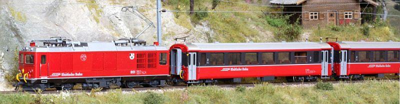 """Bemo 7267 110 Zugpackung """"Berninabahn"""""""