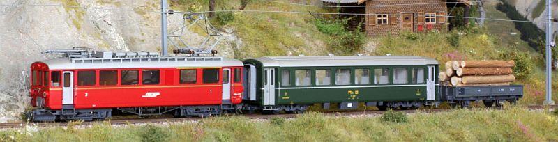 Bemo 7268 121 Zugpackung Berninabahn