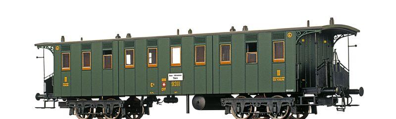 Brawa 6501 SBB-USA Personenwagen C4, 8790