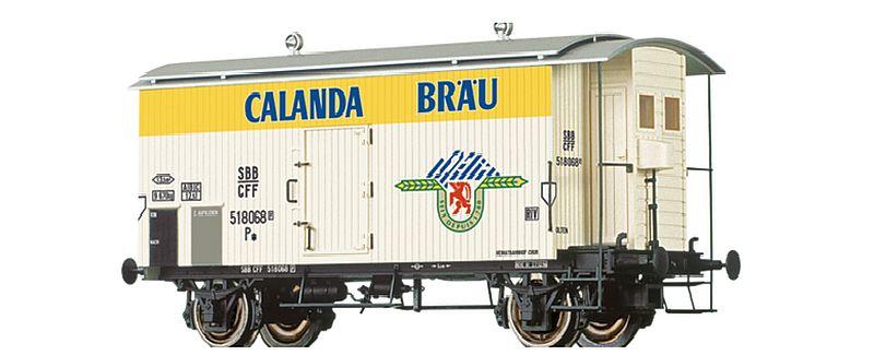"Brawa 47868 SBB Güterwagen K2 ""Calanda"""
