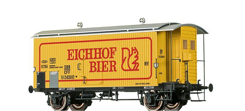 """Brawa 47869 SBB K2 """"Eichhof Bier"""""""