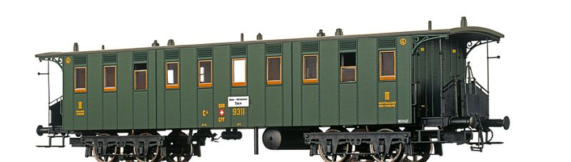 Brawa 65011 SBB-USA Personenwagen C4 9311