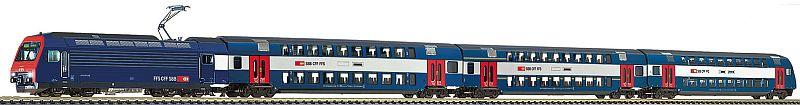 Fleischman 781902 Zürcher S-Bahn: Zugset mit SBB Re 450