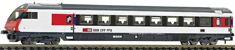 Fleischmann 890185 SBB Steuerwagen EW IV bt in 2. Klasse