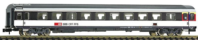 Fleischmann 890207 SBB Schnellzugwagen EW IV, 1. Klasse mit Serviceabteil.