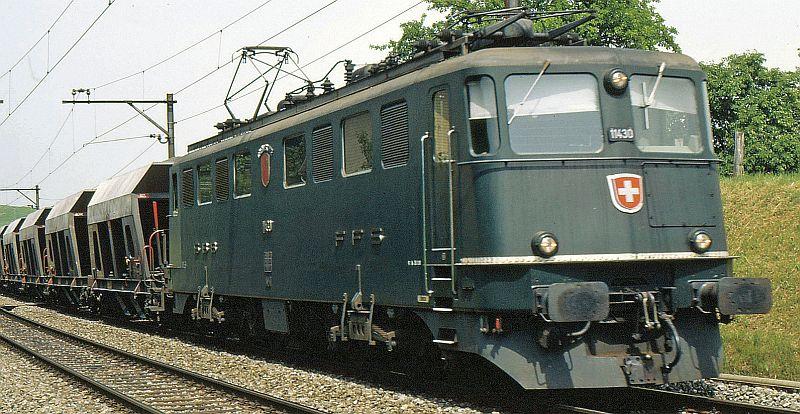 Fleischmann 737214 SBB Ae 6/6 11437 Stadt Basel