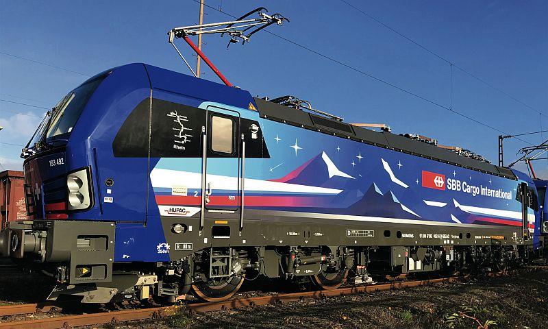 Fleischmann 739310 E-Lok BR 193 492-6 der HUPAC AG