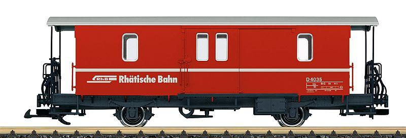 LGB 34554 RhB Gepäckwagen D2 Nr. 4035
