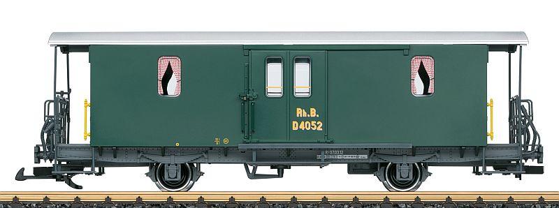 """LGB 34556 RhB Gepäckwagen D2 Nr. 4025 """"Clubmodell"""""""