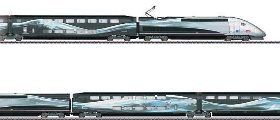 Märklin 37797 SNCF TGV Weltrekordzug