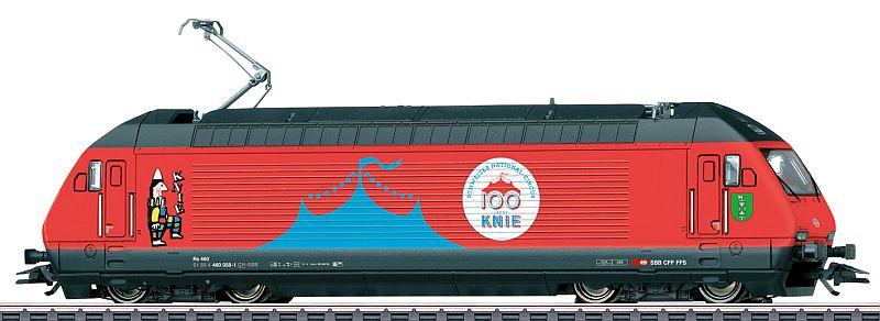 """Märklin 39468 SBB Re 460 058-1 """"100 Jahre Zirkus Knie"""""""